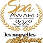 Les Nouvelles Esthetiques Spa Awards 2012
