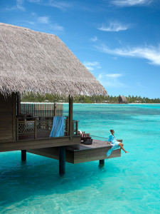 Water Villa with model