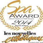 Les Nouvelles Esthetiques Spa Awards 2014