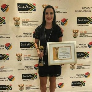 Woman Entrepreneur takes Best Proudly South African Award