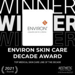 Environ® wins prestigious international award for the TOP MEDICAL SKIN CARE LINE OF THE DECADE