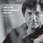 SCFSA'S ESTEEMED LIFETIME ACHIEVEMENT AWARD HONOURS DR DESMOND FERNANDES FOR SKINCARE CONTRIBUTIONS
